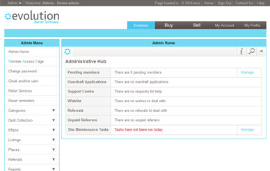 View the Backend Demo